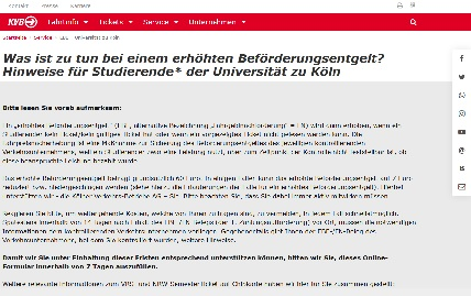 Screenshot EBE-Portal
